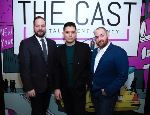 Ryan Ratelle, Sam Ratelle, and Frank Spadafora