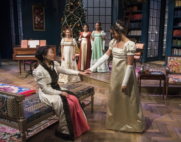 Photo Flash: First Look at Milwaukee Rep's MISS BENNET: CHRISTMAS AT PEMBERLEY