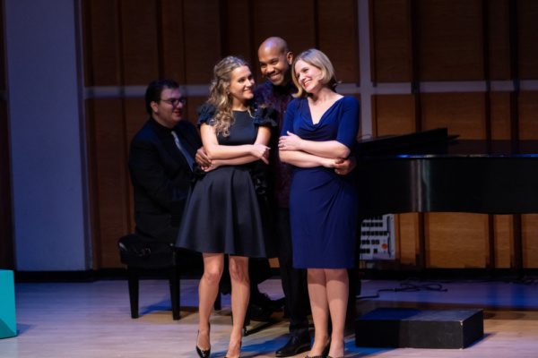 Lora Lee Gay, Darius De Haas, Amy Justman  Photo credit: David Andrako