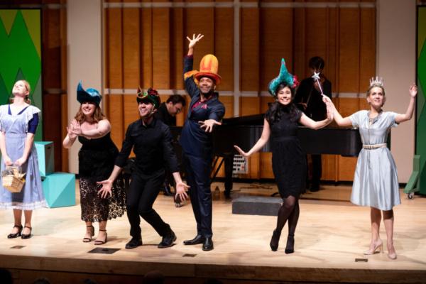 Amy Justman, Victoria Nassberg, Austin Marquez, Darius De Haas, May Yoshioka, Lora Lee Gayer  Photo credit: David Andrako
