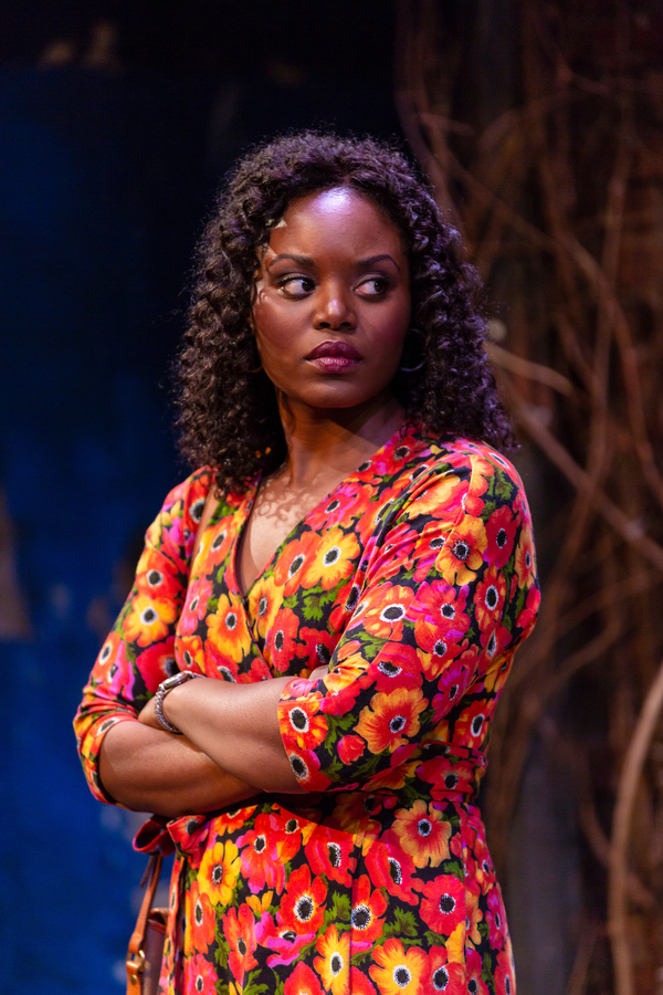 Brittany Bellizeare (Tonya) in August Wilson's King Hedley II at Two River Theater. Photo Credit: T. Charles Erickson