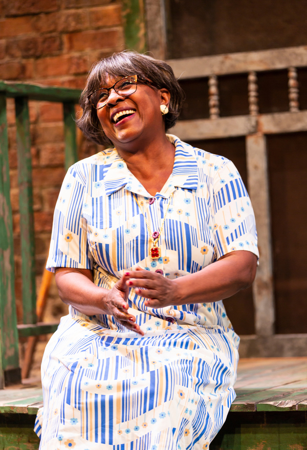 Elain Graham (Ruby) in August Wilson's King Hedley II at Two River Theater. Photo Credit: T. Charles Erickson