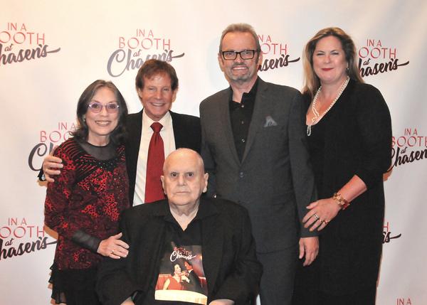 Director Kay Cole, Producer Ron Dante, Composer Phil Swann, Author Sam Bennett, Producer John Herklotz (Seated)