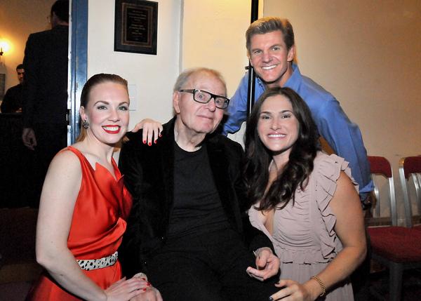 Kelley Dorney, Composer Al Kasha, Brent Schindele, Ashley Reagan (Reagan Grand-Daughter)
