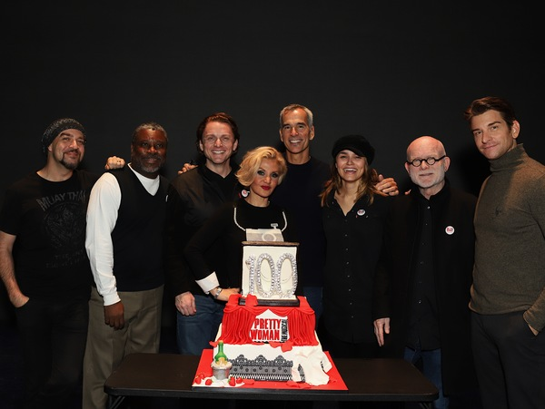 Eric Anderson, Kingsley Leggs, Jason Danieley, Orfeh, Jerry Mitchell,  Samantha Barks, Jim Vallace, and Andy Karl