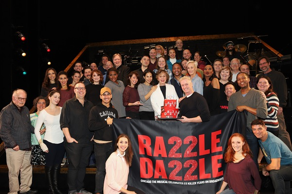 Photo Coverage: CHICAGO Celebrates 22 Years on Broadway
