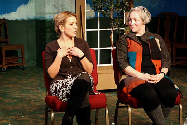 Post-Show Talkback: Director Jessica Franz and Dr. Jennifer Frangos (UMKC English Professor and member of the Jane Austen Society of North America-Metropolitan KC Region).