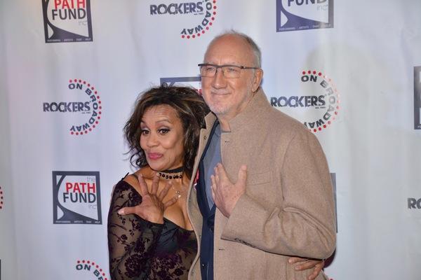 Cheryl Freeman and Pete Townsend