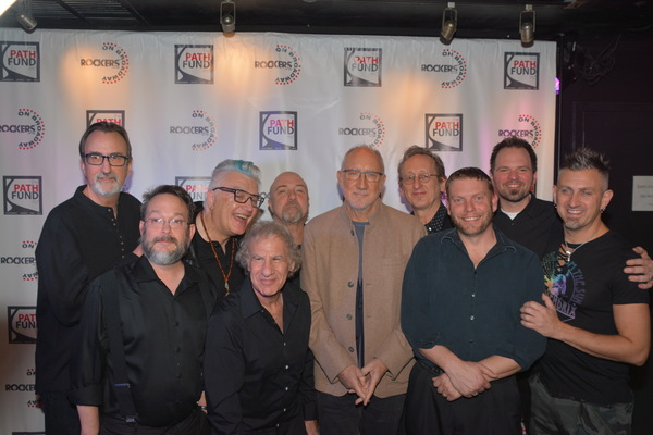 The Rockers on Broadway Band with Pete Townsend and Lucas Corrubia-Gary Bristol, Steve Snyder, Kevin Kuhn, John Putnam, Joe Snyder, Nate Brown and John Clancy
