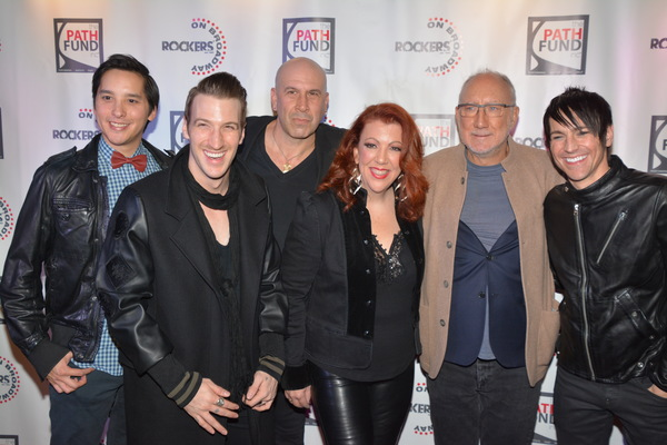 Ryan Willard, John Arthur Greene, Jeremy Schonfeld, Jen Perry, Pete Townsend and Tony Vincent