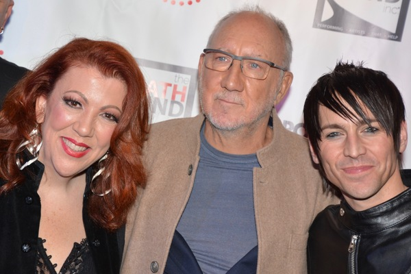Jen Perry, Pete Townsend and Tony Vincent