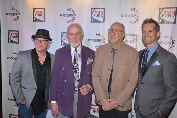 Donnie Kehr, Ken Wirth, Pete Townsend and J. Robert Spencer Photo