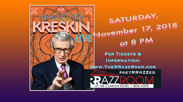 The Amazing KRESKIN Live