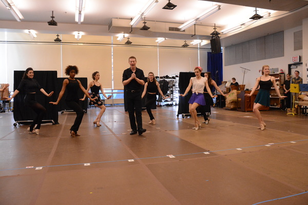 Jeff Kready and the ensemble dancers that include-Tricia DeSario, Taylor Fields, Kell Photo