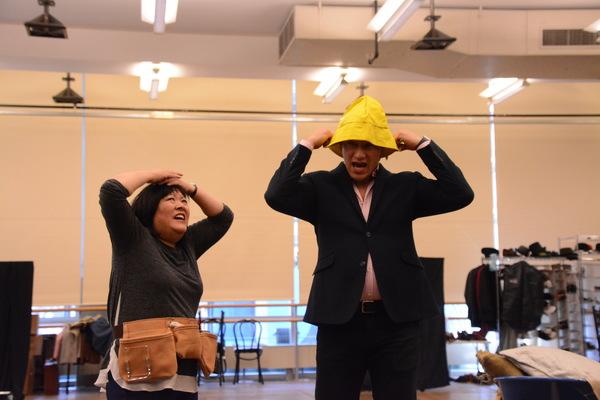 Ann Harada and Nicholas Rodriguez
