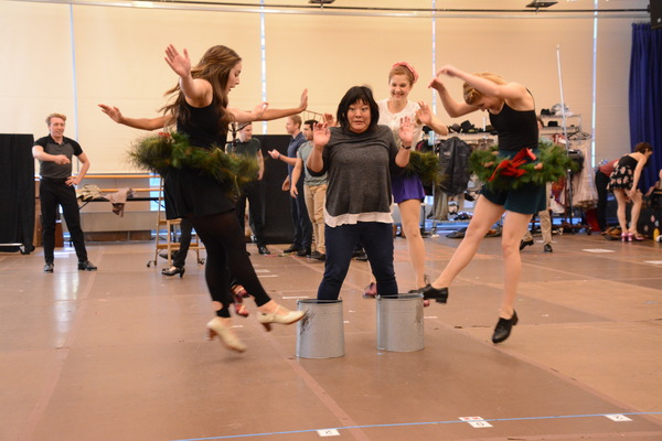 Photo Coverage: The Cast of HOLIDAY INN at Paper Mill Playhouse Meets the Press