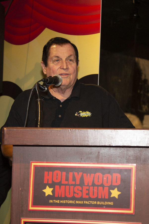 Burt Ward shares memories of both Adam West and Stan Lee from the Podium