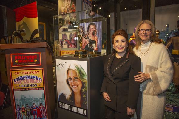 Donelle Dadigan and Emmy winner Lindsay Wagner