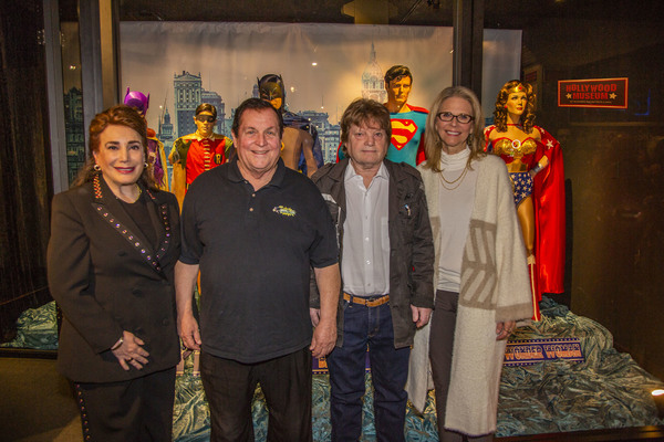 Photo Flash: Superheroes Exhibit Opening Celebration at the Hollywood Museum
