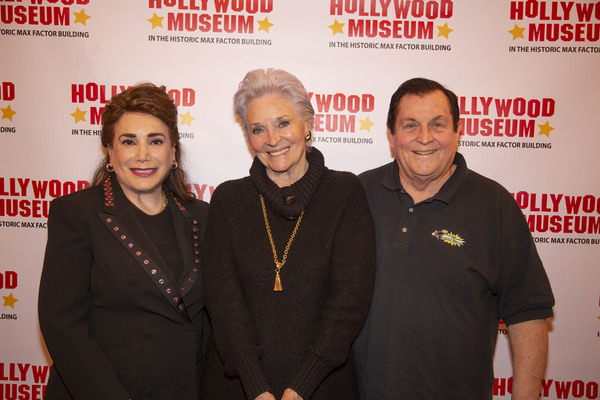 Donelle Dadigan, Lee Meriwehter and Burt Ward Photo