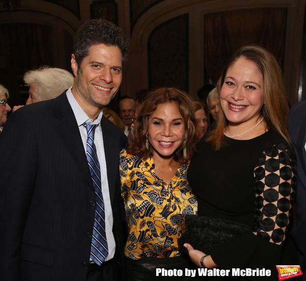 Tom Kitt, Daphne Rubin-Vega and Rita Pietropinto