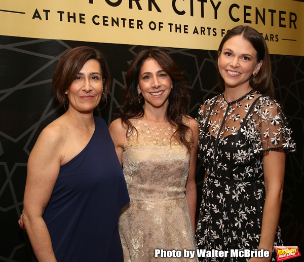 Jeanine Tesori, Stacy Bash- Polley and Sutton Foster