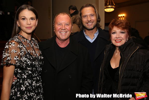Sutton Foster, Michael Kors, Lance Le Pere and Donna McKechnie