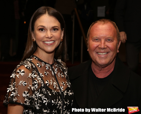 Sutton Foster and Michael Kors