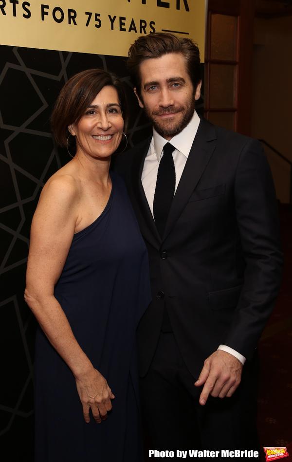 Jeanine Tesori and Jake Gyllenhaal