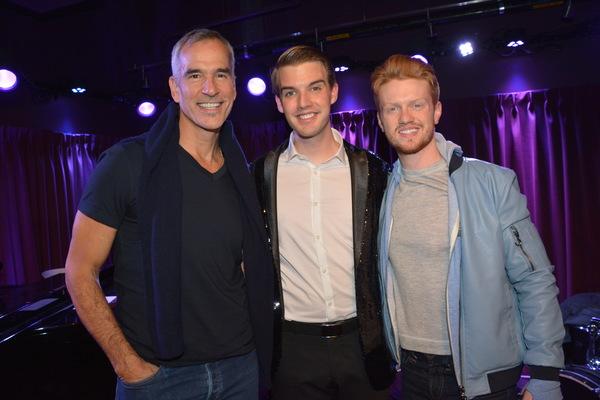 Jeremy Mitchell, Mark William and Ricky Schroeder Photo