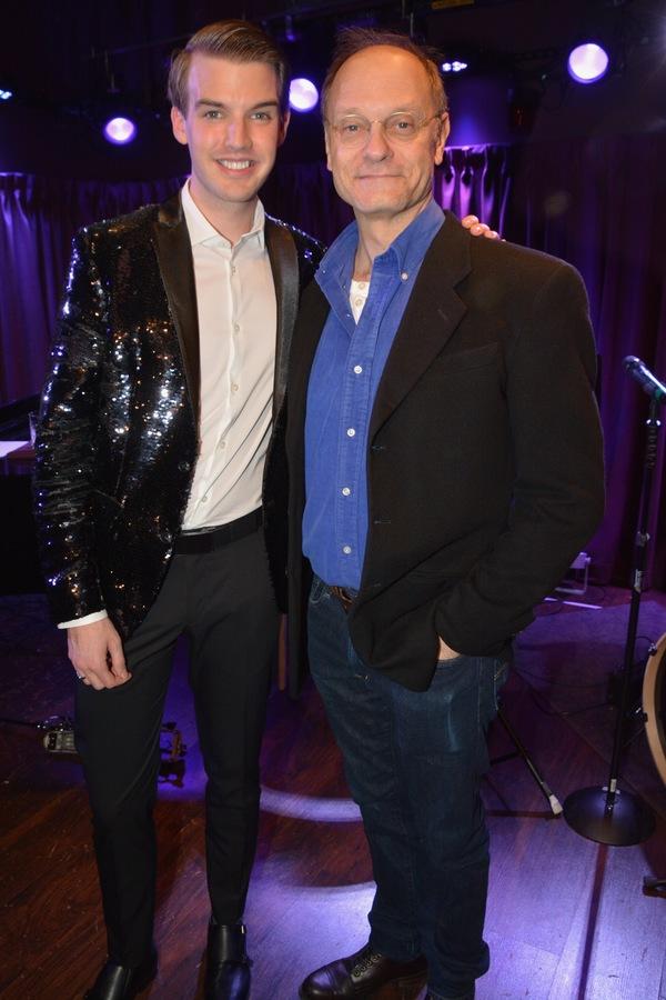 Mark William and David Hyde Pierce