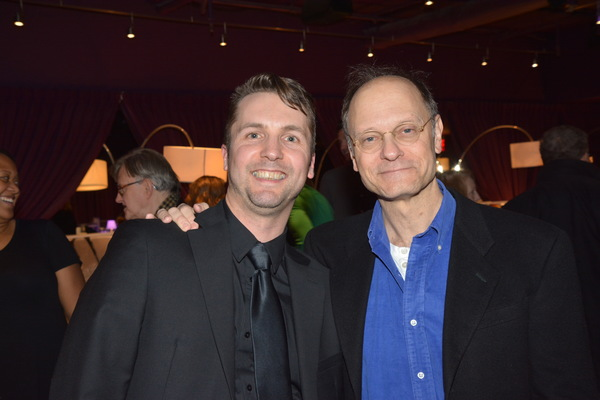 Clint Edwards and David Hyde Pierce