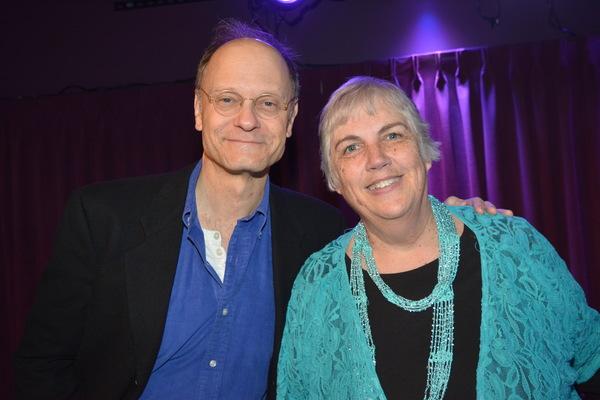 David Hyde Pierce and Teresa Blowers