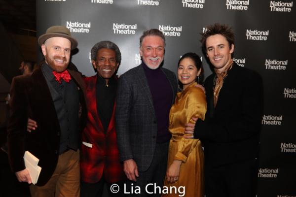 Musical Director and Vocal Arranger Liam Robinson, Andre De Shields, Patrick Page, Eva Noblezada, Reeve Carney