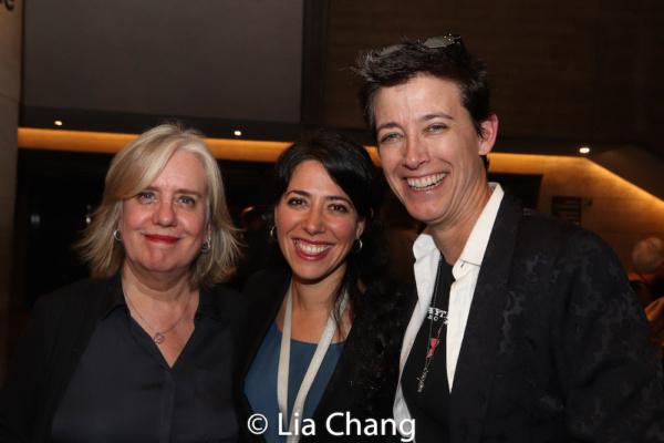 Director Lisa Peterson, HADESTOWN Director Rachel Chavkin and Set Designer Rachel Hauck