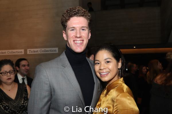 Leo Roberts and his wife Eva Noblezada