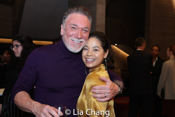 Patrick Page and Eva Noblezada