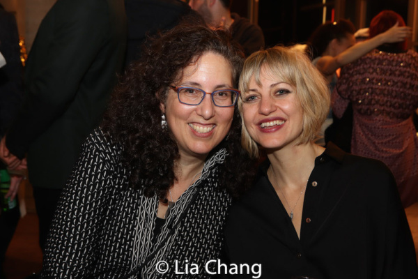 Co-Producer Mara Isaacs and Anais Mitchell