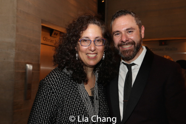 Mara Isaacs and Jeremy Blocker, Managing Director at New York Theatre Workshop