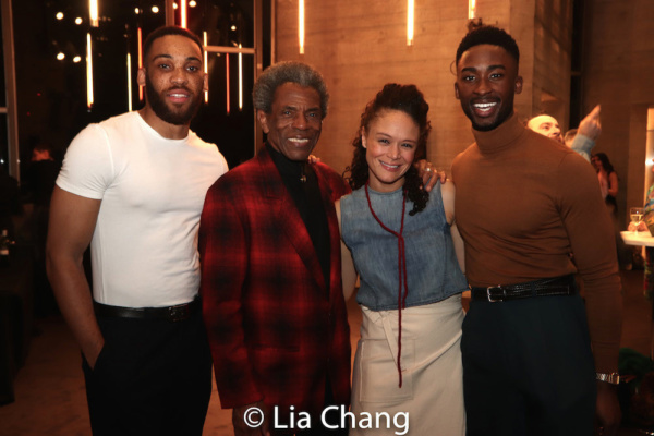 Photo Flash: The Cast of HADESTOWN Celebrates Opening Night At National Theatre
