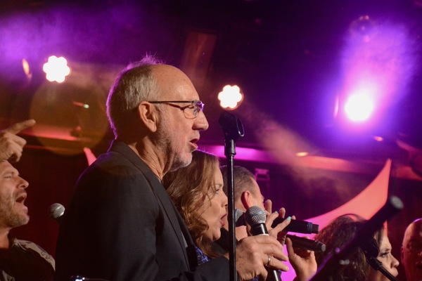 Pete Townsend and Alice Ripley Photo
