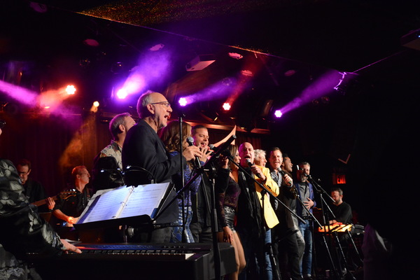 Pete Townsend and the cast that included-Alice Ripley, Bligh Voth, Maria Calabrese, J Photo