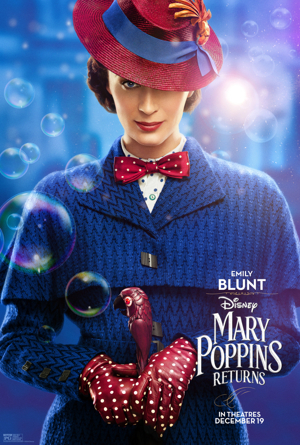 Photo Coverage: See the New Character Posters for MARY POPPINS RETURNS