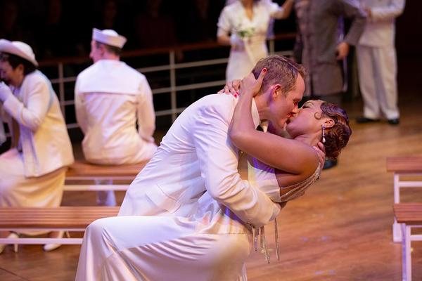 "Jimmy Ray Bennett and Soara-Joye Ross in ""Anything Goes."""
