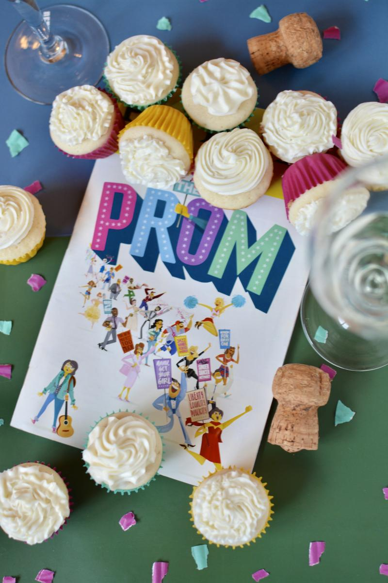 Backstage Bite with Katie Lynch: Caitlin Kinnunen and Isabelle McCalla Celebrate THE PROM with Champagne Cupcakes!
