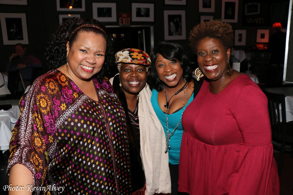 Aisha De Haas, Lillias White, Roz Brown, Capathia Jenkins