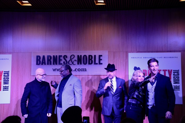Jim Vallance, Kingsley Leggs, Eric Anderson, Orfeh and Andy Karl