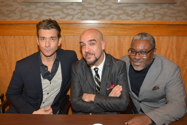 Andy Karl, Eric Anderson and Kingsley Leggs Photo