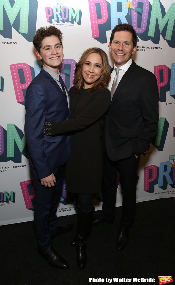 Hudson Flynn, Andrea burns and Peter Flynn