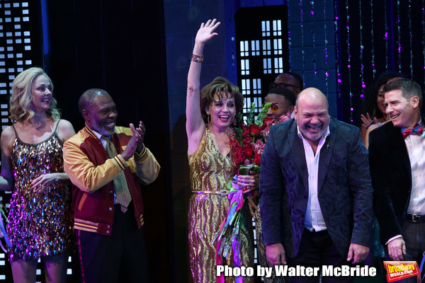 Angie Schworer, Michael Potts, Beath Leavel, Casey Nicholaw and Chad Beguelin